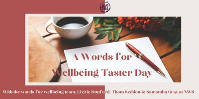 A Words for Wellbeing Taster Day