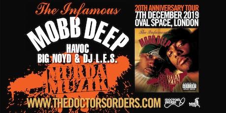 Mobb Deep - Murda Muzik 20th Anniversary tickets