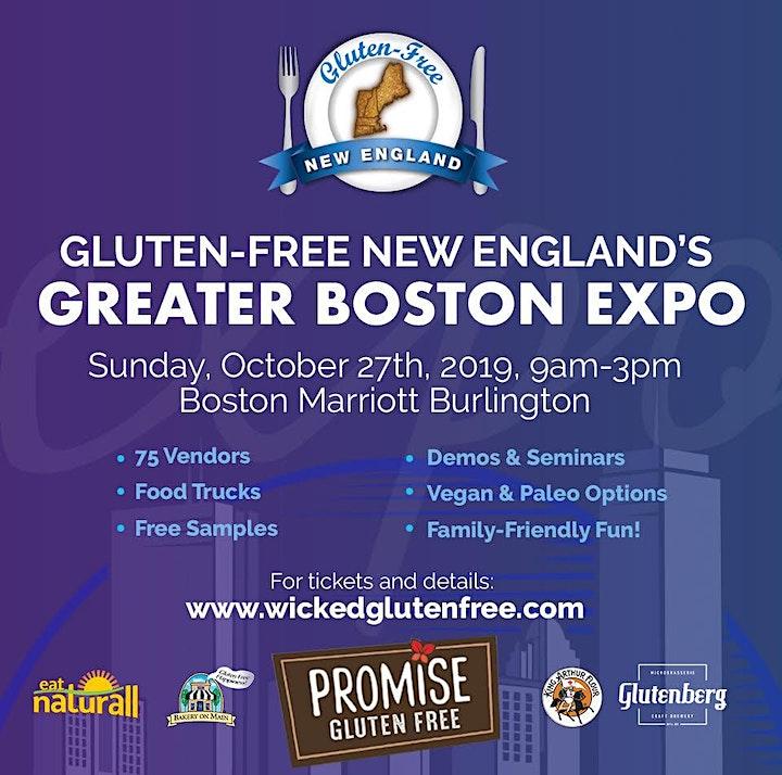 Gluten-Free New England's Greater Boston Expo! image