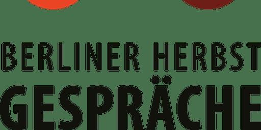 """""""Berliner Herbstgespräche"""" Ausstieg aus der Gewaltspirale"""
