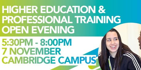 Higher Education and Professional Training Open Evening tickets