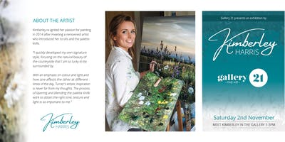 KIMBERLEY HARRIS ART EXHIBITION – Acclaimed Palette Knife Artist
