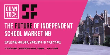 [LONDON] The Future of Independent School Marketing tickets