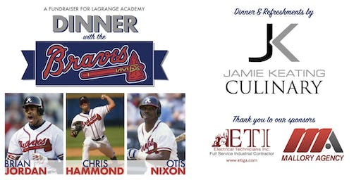 Dinner with the Braves- A LaGrange Academy Fundraiser