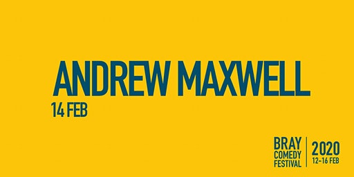 """Andrew Maxwell """"Reality"""" Tour"""