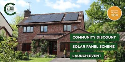 Launch Event: Chippenham Community Discount Solar Panel Scheme