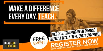 Get into Teaching Bradford