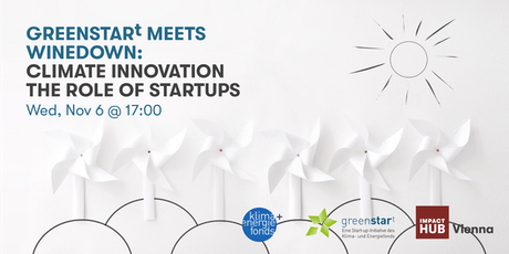 greenstart meets WineDown: Climate Innovation - The Role of Startups tickets
