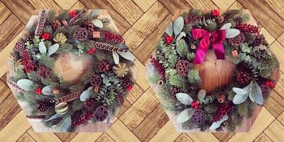 Festive Faux Wreath Workshop