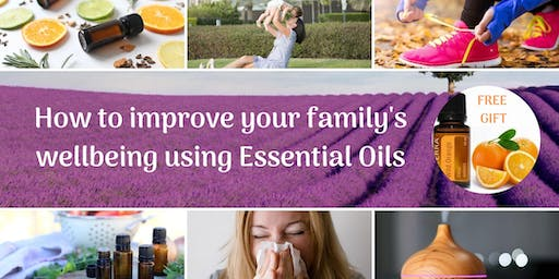 How to improve your family's wellbeing using essential oils