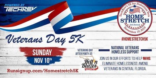 Volunteer for TechRev's Home Stretch 5K Benefiting Homeless Veterans