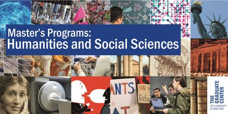 Master's Programs Open House: Humanities and Social Sciences tickets
