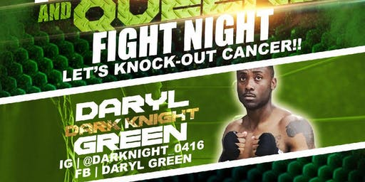 Daryl Green Live Pro Boxing Event! #KnockOutCancer