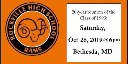 RHS Class of '99 Twenty Year Reunion