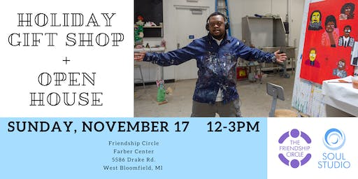 Holiday Gift Shop + Open House