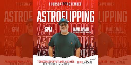 REI Live! Atlanta November Meetup: ASTROFLIPPING with JAMIL DAMJI