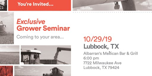Exclusive Dinner Event - Lubbock, TX