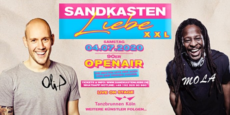 Sandkastenliebe XXL - 04.07.20 - Oli P., Mola uvm. - Tanzbrunnen Tickets
