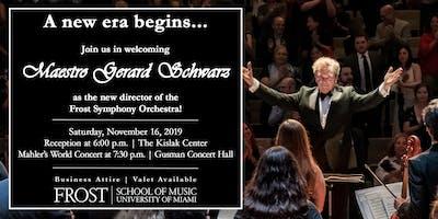 Maestro Gerard Schwarz VIP Reception & Concert