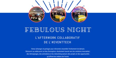FEBulous Night | L'afterwork collaboratif de l'#EventTech billets