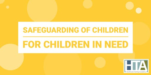 Safeguarding of Children Free training for Children in Need