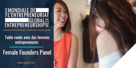 Table ronde avec des femmes entrepreneures | Female Founders Panel billets