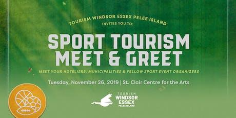 Sport Tourism Meet & Greet tickets