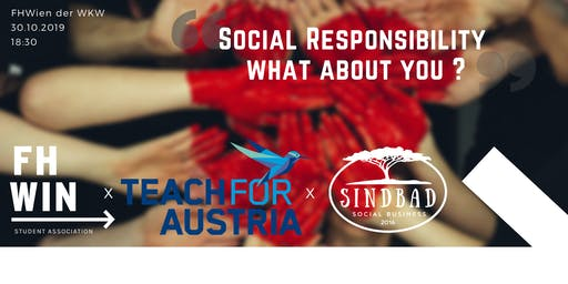 Social Responsibility - mit Teach4Austria & Sindbad