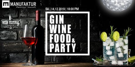 Weinfestival: Wein, Gin, Food & Party Tickets