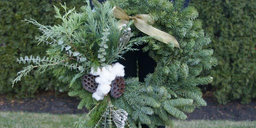 Fresh Holiday Wreaths at Lord + Taylor with Alice's Table