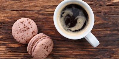 Macaron baking class - Coffee and dark chocolate macarons