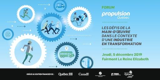Forum Propulsion Québec