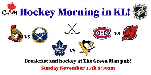 CAM's Hockey Morning in KL!