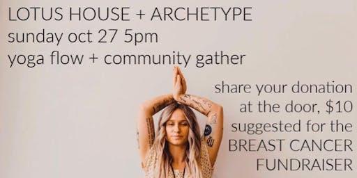 FREE Breast Cancer Fundraiser Yoga Flow