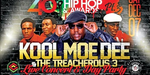 The 46th Anniversary of Hip Hop pt 3 with Kool Moe Dee andThe Treacherous 3