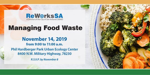 Managing Food Waste: A Panel Discussion