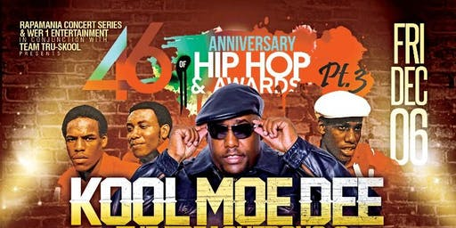 The 46th Anniversary of Hip Hop Pt 3 with KOOL MOE DEE & TREACHEROUS 3