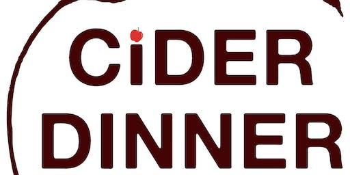 Cider Dinner Featuring Chef Andrew + Matt Halley of Virtue