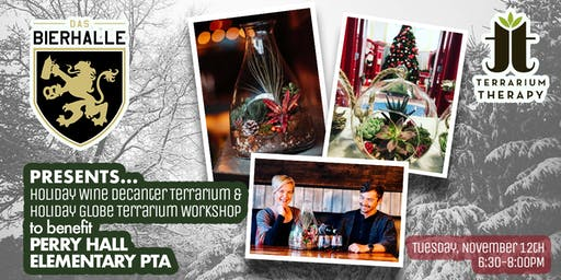 Holiday Terrarium Workshop at Das Bierhalle