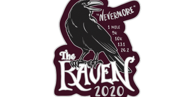 2020 The Raven 1M, 5K, 10K, 13.1, 26.2 -Des Moines