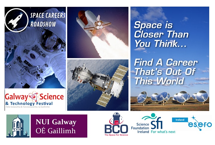 Space Careers Roadshow at NUIG image
