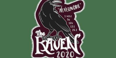 2020 The Raven 1M, 5K, 10K, 13.1, 26.2 -Wichita