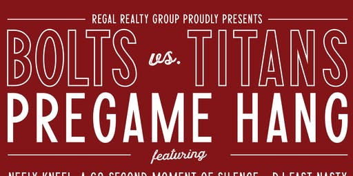 Bolts vs. Titans Pregame hang