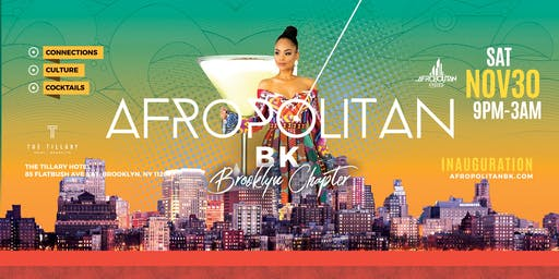AfropolitanBK (Brooklyn) - Inauguration - Largest Afterwork Cultural Mixer Launching in Brooklyn
