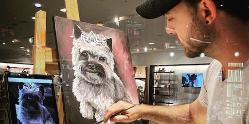 Paint and Sip with Ryan Ilgi