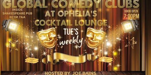 Ophelia's Comedy Lounge FREE