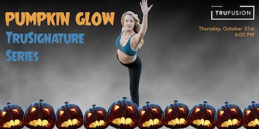 Pumpkin Glow Yoga at TruFusion