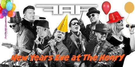 New Year's Eve at The Henry  featuring 50 AMP FUSE. Pricing is per couple! tickets