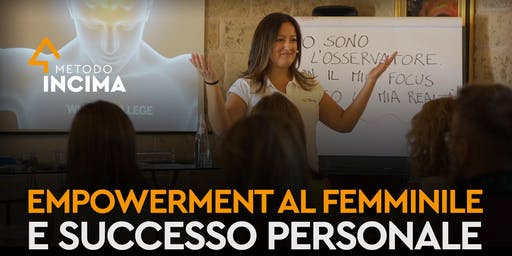 Empowerment Femminile e Successo Personale | Bari, Italia