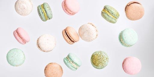 Macaron baking class - Champagne ganache and Foie Gras ganache
